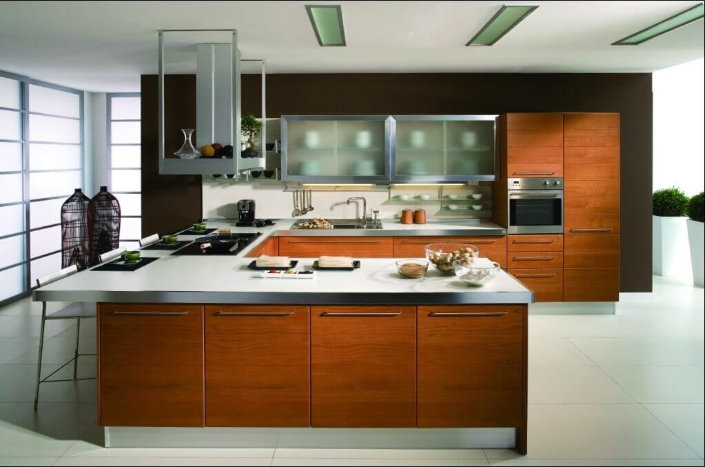 5 Different Types of Kitchen - Bonito Designs
