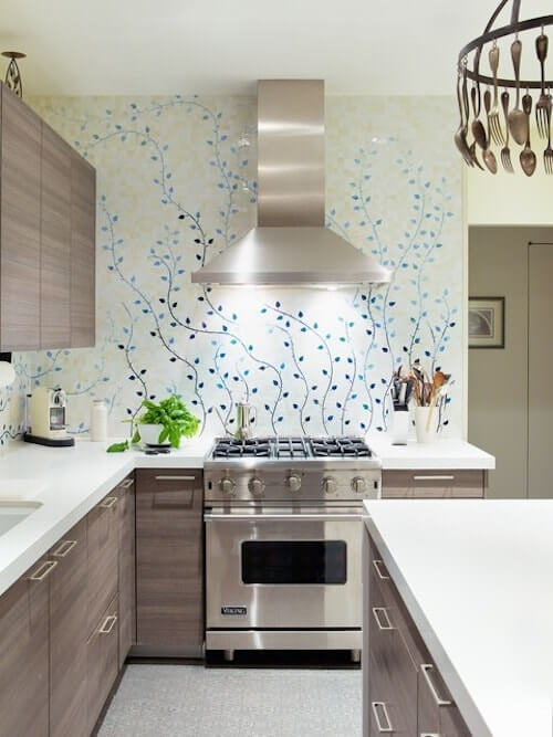 8 Best Creative Kitchen Wallpaper Ideas And Creative Ways To Use