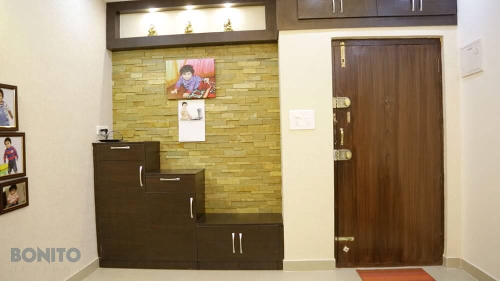 Mr Vishal S 3bhk Apartment Bonito Designs